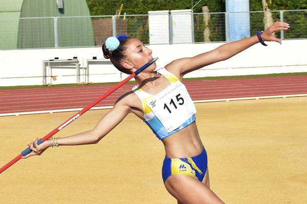 Promesas del Deporte Atletismo Isabel García Méritos deportivos