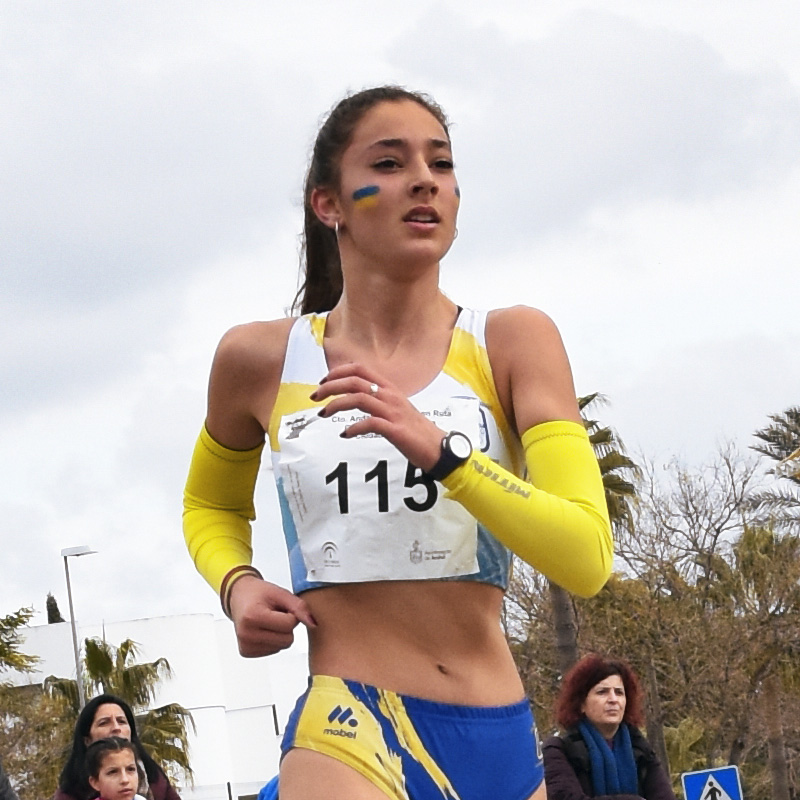 Promesas del Deporte Atletismo Isabel García