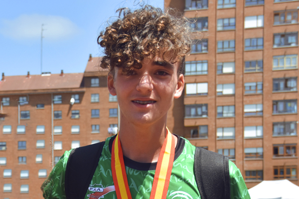 Promesas del Deporte Atletismo Juan Diego García Méritos deportivos
