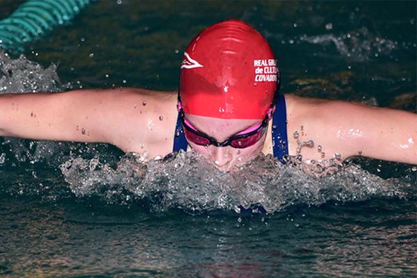 Promesas del Deporte Natación Sara Alonso Méritos deportivos